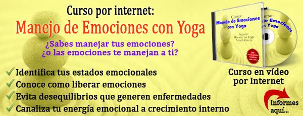 Curso: Manejo de emociones con Yoga